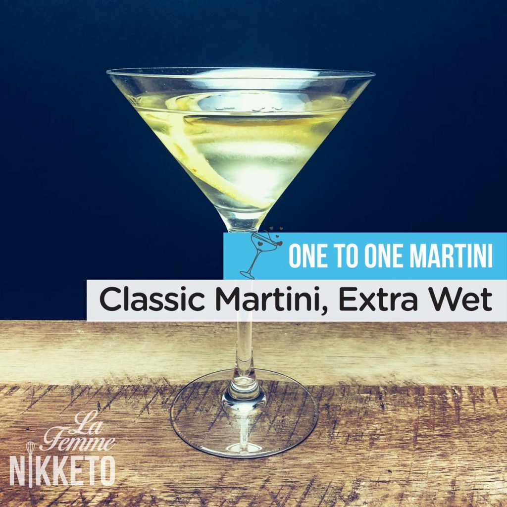 One to One Martini