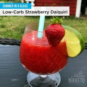 'Sugar Free' Strawberry Daiquiri