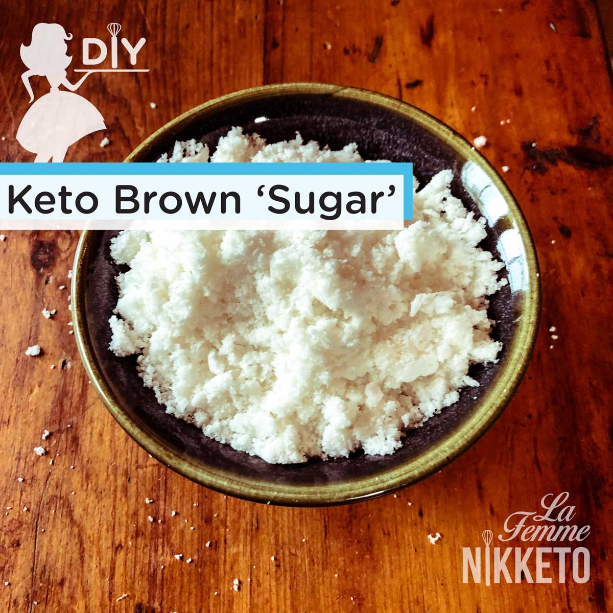 Homemade Keto 'Sugar-Free' Light Maple Brown Sugar