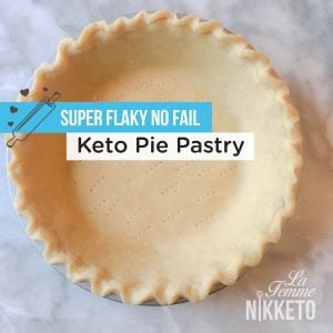 Flaky No Fail Keto Pie Pastry