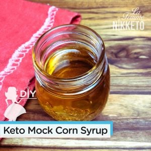 'Low-Carb' / Keto Golden Mock Corn Syrup