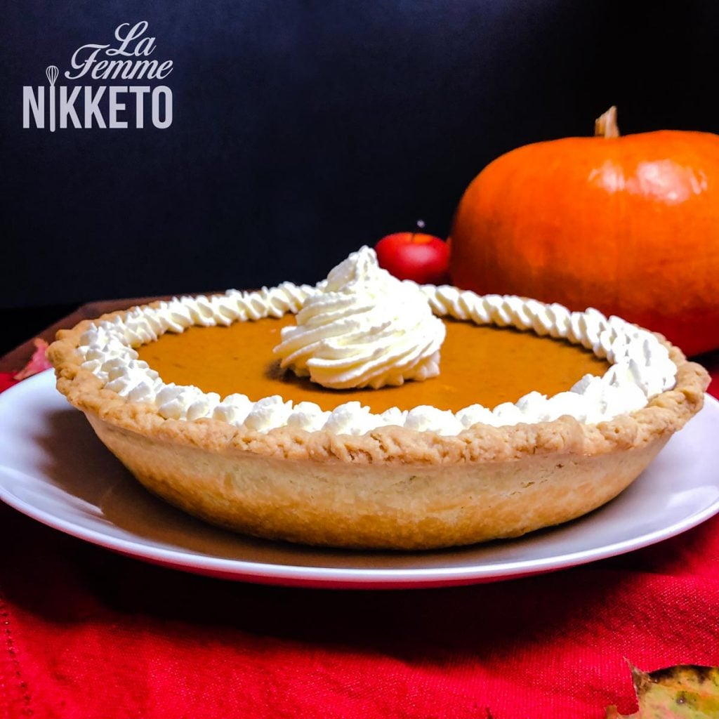 Diabetes Friendly Pumpkin Pie