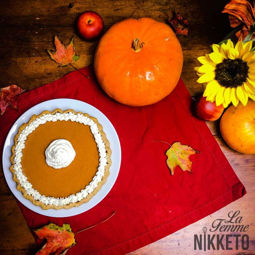 Low Carb Pumpkin Pie