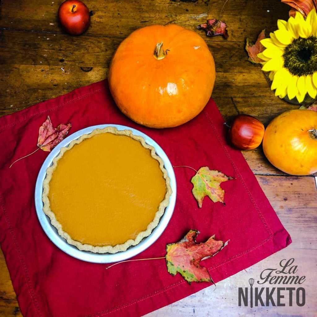 Gorgeous Keto Pumpkin Pie