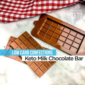 Keto Milk Chocolate Bar