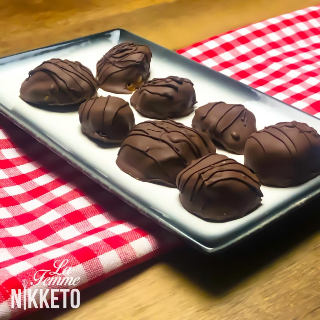 Nut Free Keto Turtles Candy